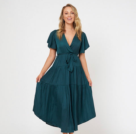 Talullah Dress - Emerald