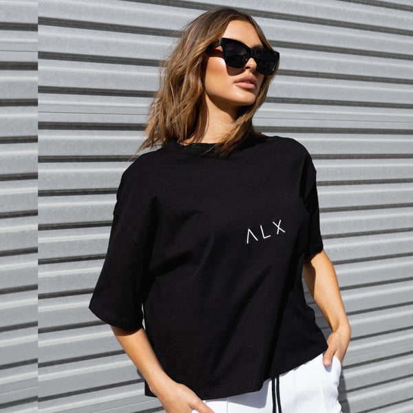 Brooklyn T-Shirt - Black || ALEXANDRA