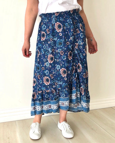 Peggy Skirt - Floral
