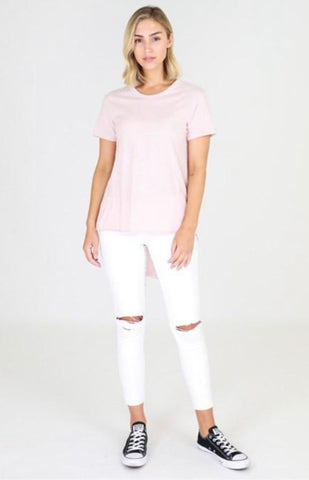 Sorrento Tee - 3rd Story - Blush