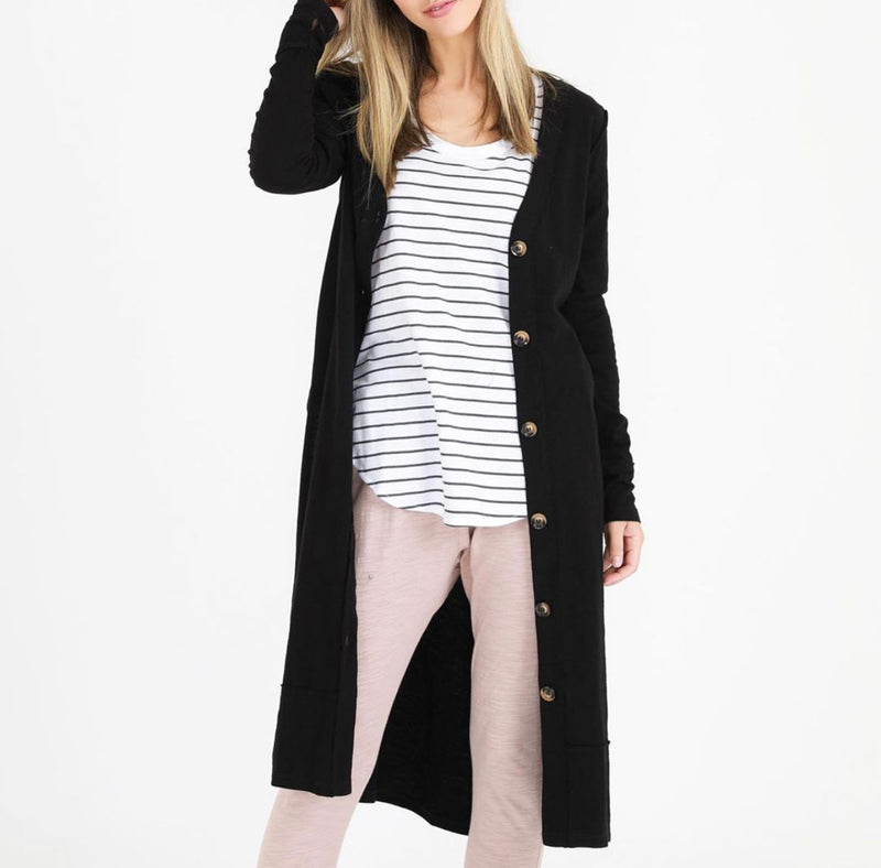 Lucy Cardigan - Black || 3rd Story