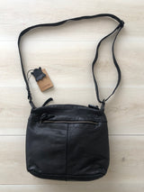 Valencia Bag - Black || Rugged Hide