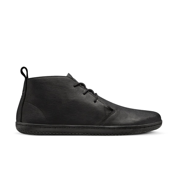 Vivobarefoot Gobi II. Men's (wild hyde leather, black)