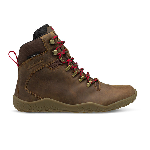 Vivobarefoot Tracker FG. Men's (dark brown)