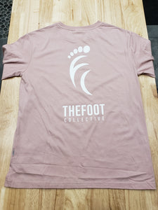 Women's L/S tee [Dusty Rose]