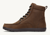 Lems Waterproof Boulder Boot. Unisex (weathered umber)