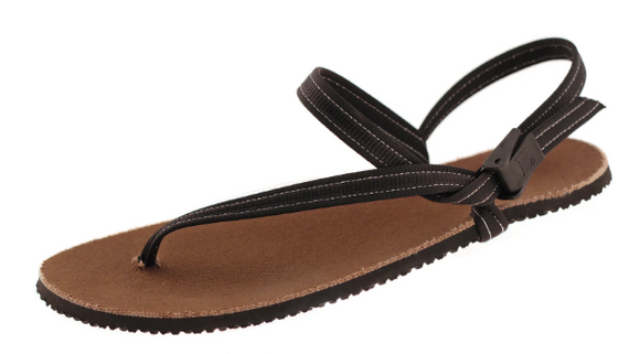 Earth Runners - Circadian Adventure Sandal. Unisex (black performance lace)