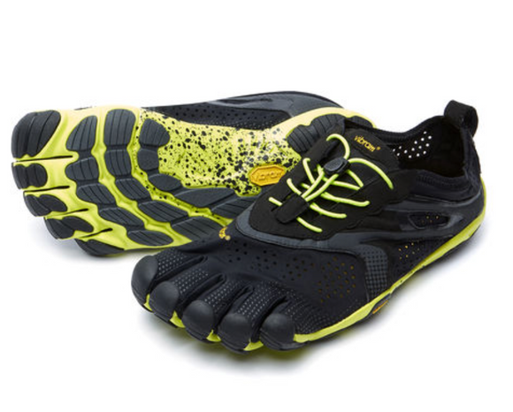 Vibram V-run. Mens (black/yellow)