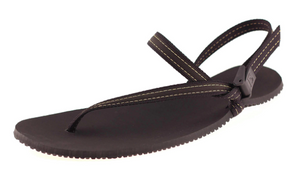 Earthrunners - Elemental Lifestyle Sandal. Unisex (black nylon lace)
