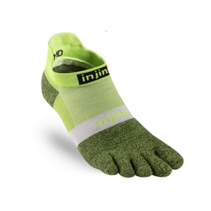 Injinji Run Lightweight No Show. Unisex (Chive)