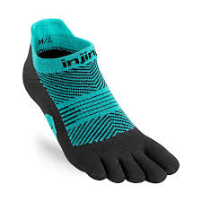 Injinji Women's Run Lightweight No-Show. (Jewel)