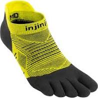 Injinji Run Lightweight No Show. Unisex (Limeade)