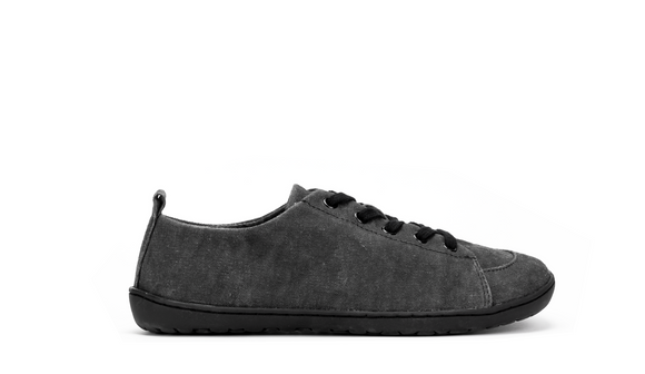 Mukishoes Low Cut. Men's (obsidian)