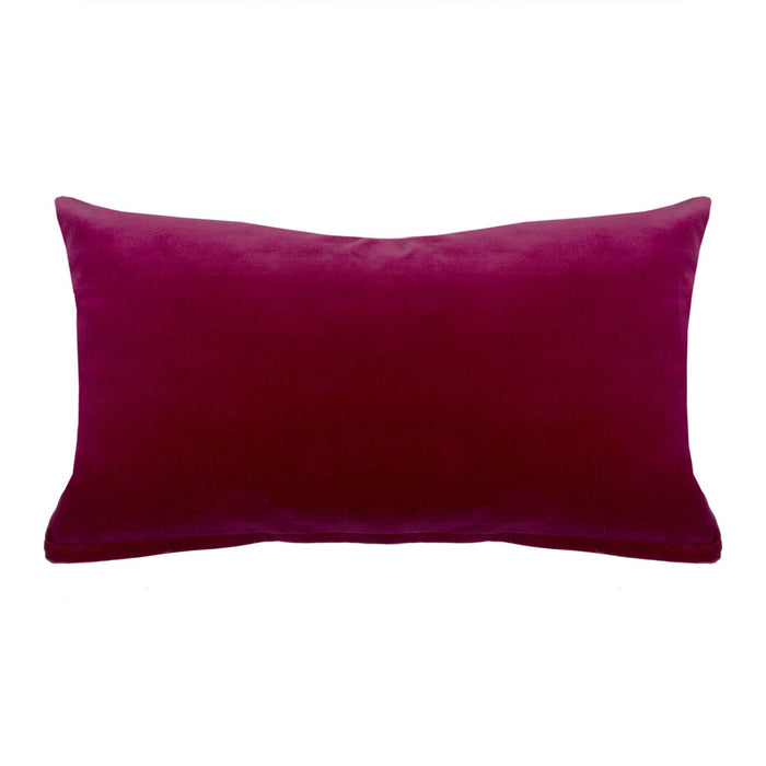 Carmine Raspberry Decorative Pillow
