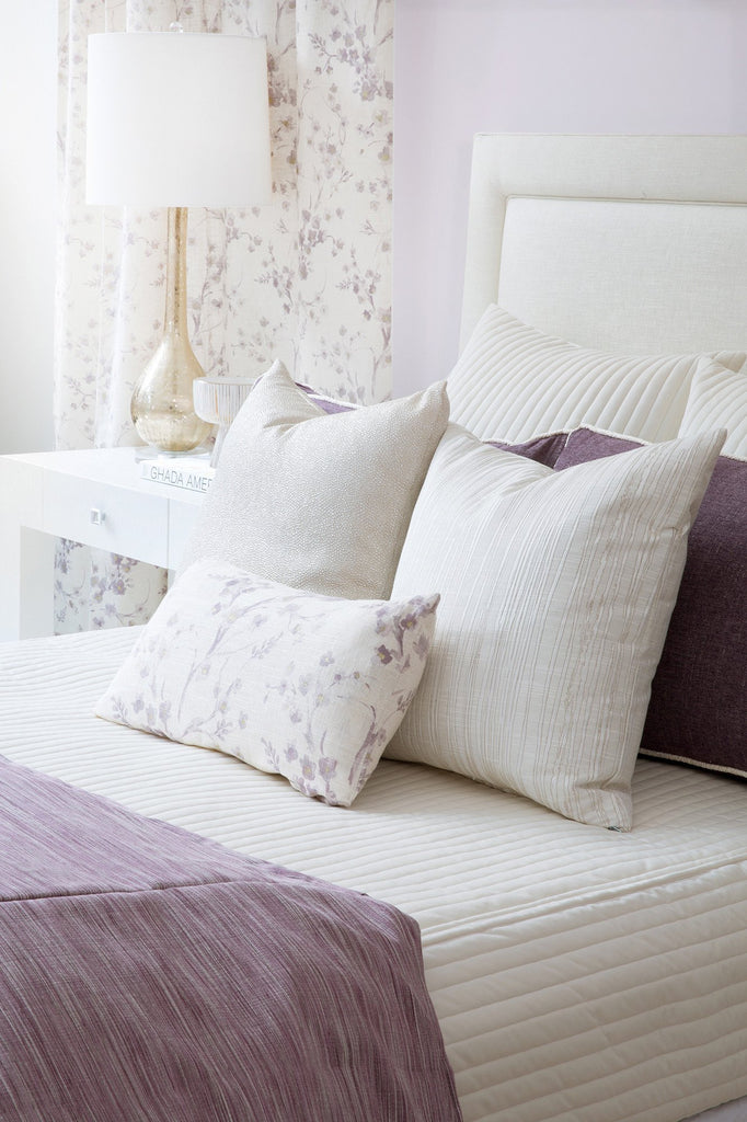 Cornelia Light Purple Decorative Throw Pillow