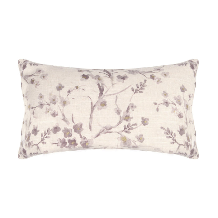 Cornelia Purple Floral Decorative Pillow