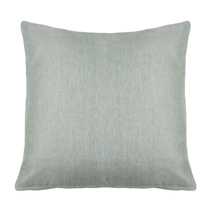 Hudson Light Blue Silver Decorative Throw Pillow