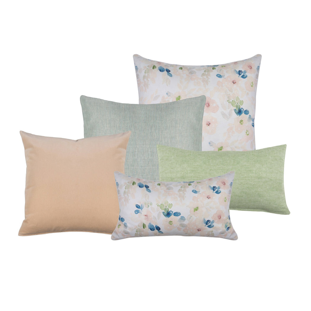 Hudson Print Decorative Pillow - Victoria Rothwell for twelvehome