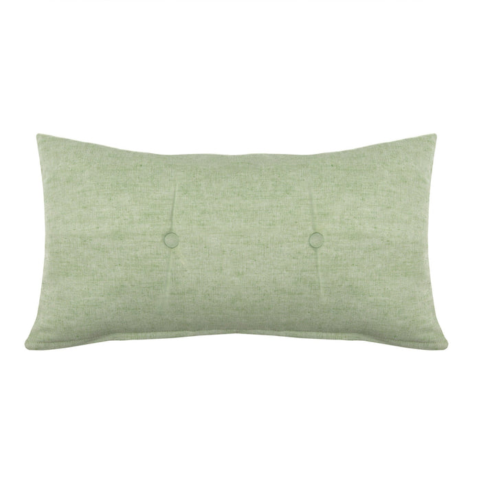 Hudson Green Decorative Tufted Pillow