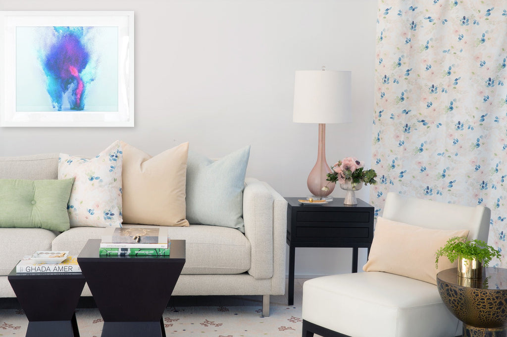 Hudson Floral Drape - Victoria Rothwell for twelvehome