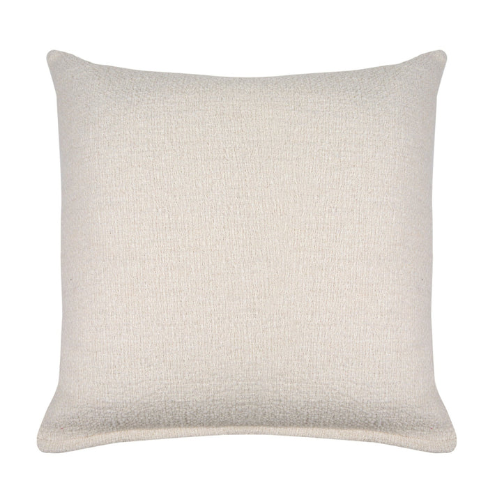 Ivory Solid Decorative Throw Pillow