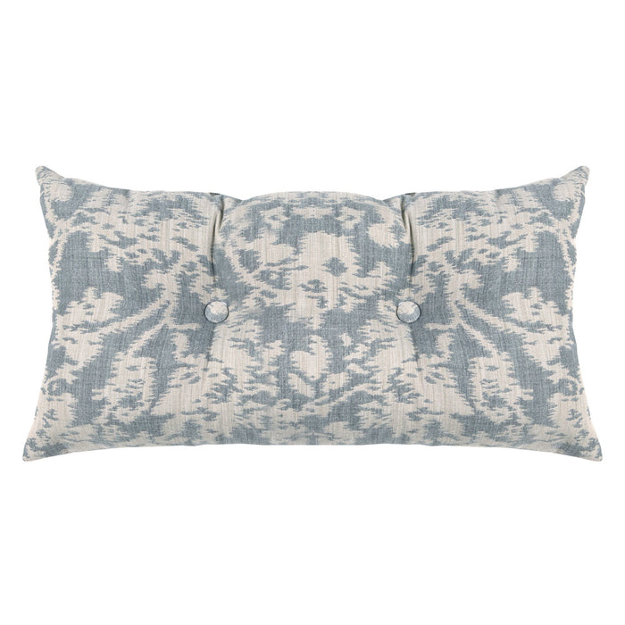 Perry Blue Meteorite Tufted Decorative Pillow