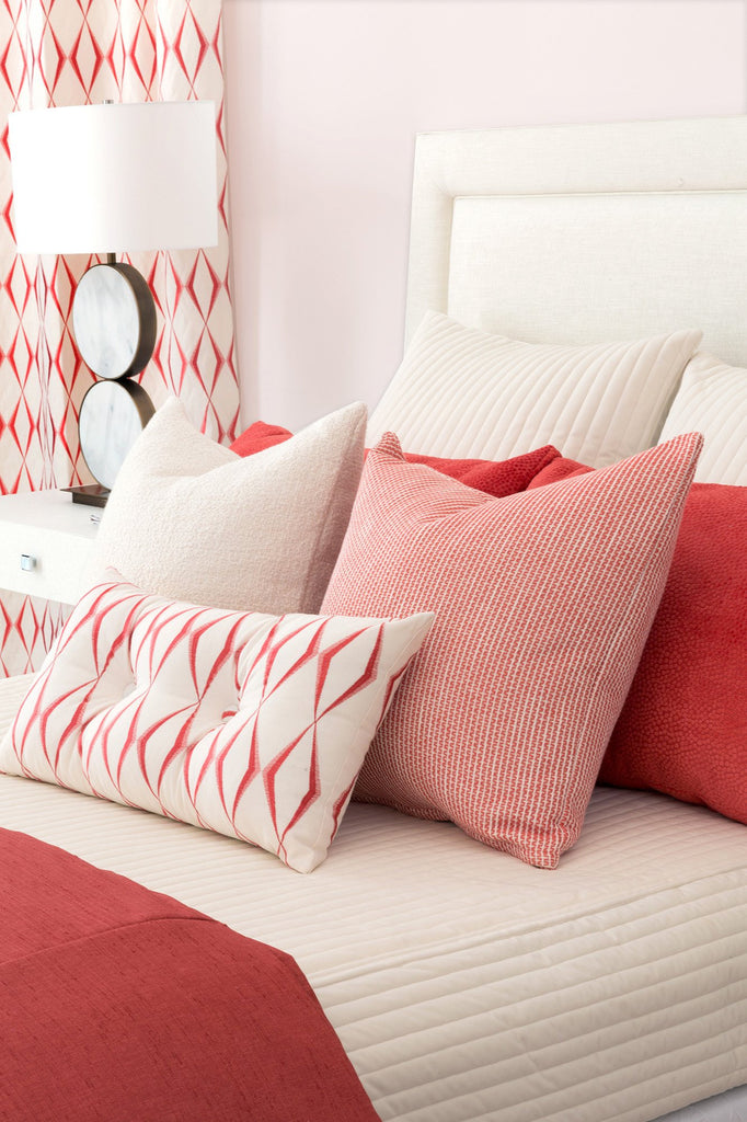 Waverly Red Decorative Pillow