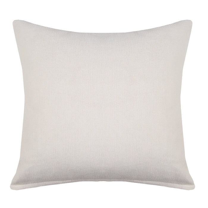 Waverly Ivory Textured Decorative Throw Pillow