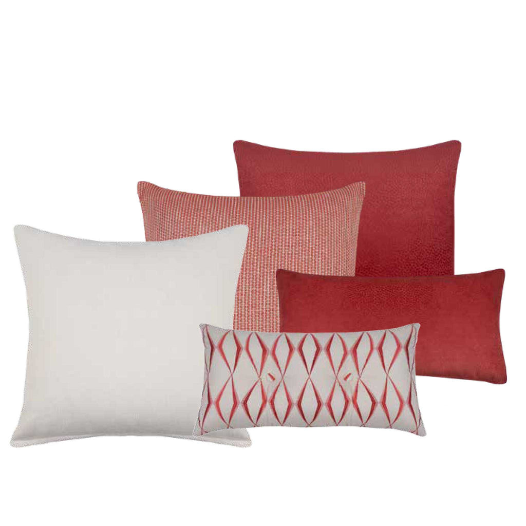 Waverly Watermelon Decorative Throw Pillow