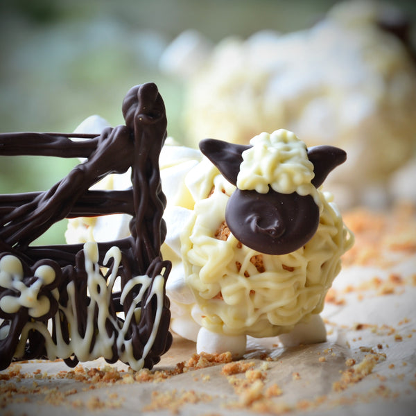 Chocolatey Makes:  Sherman the Sheep