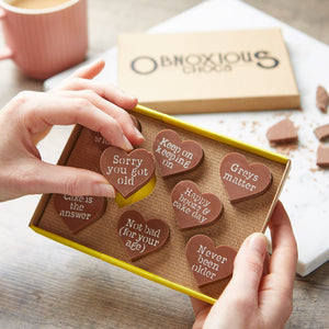Happy Birthday Obnoxious Chocs - Funny Birthday Gift