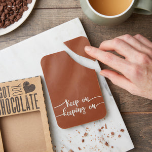 Keep On Keeping On Chocolate Bar