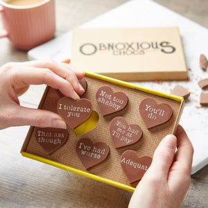 Obnoxious Chocs Funny Chocolate Gift