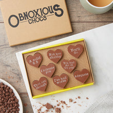Obnoxious Chocs... A funny chocolate Valentine's gift