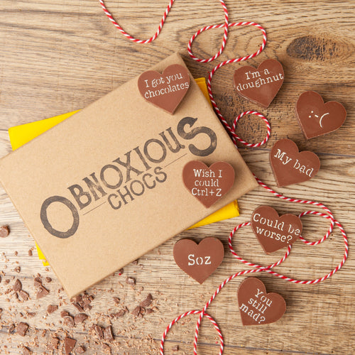 Sorry Obnoxious Chocs - Funny Apology Gift - Bagstock & Bumble