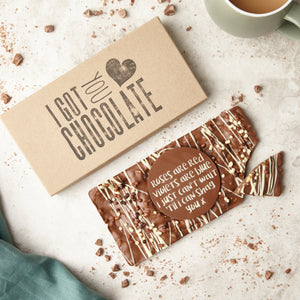 'Roses are Red...' Cheeky chocolate gift for a partner - Bagstock & Bumble
