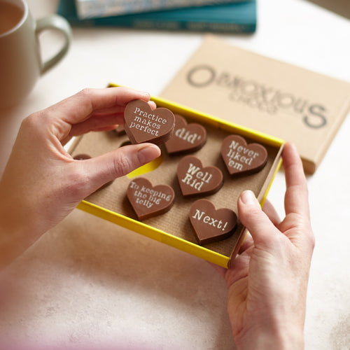 Funny Divorce of Break Up Gift for Friends - Obnoxious Chocs