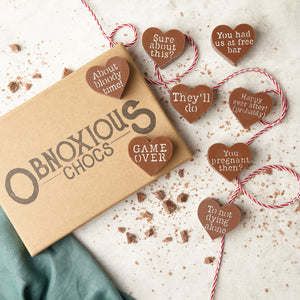 Engagement Obnoxious Chocs - Funny Engagement Gift