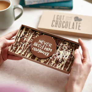 Never Liked Him Anyway Chocolate | Thinking of You Gift