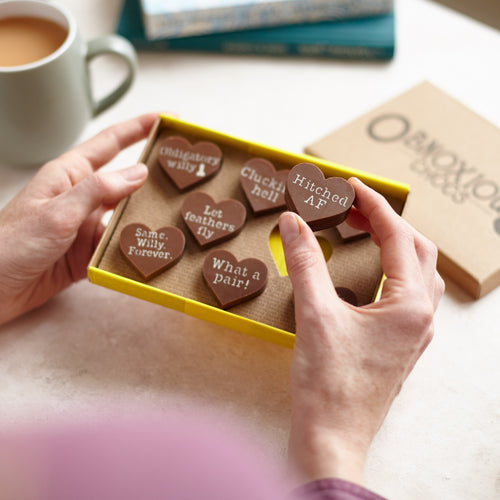 Obnoxious Chocs - Funny Chocolate Hen Party Gift