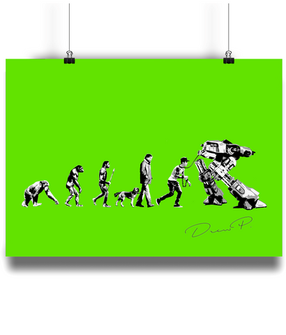 "ArtWork ""Evolution"" Poster Print"