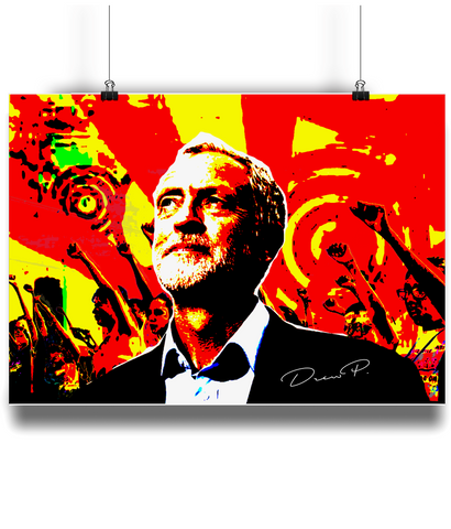 "ArtWork ""Jeremy Corbyn"" Print"