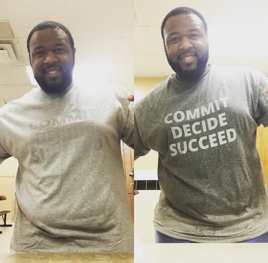 The Original: Commit Decide Succeed t-shirt
