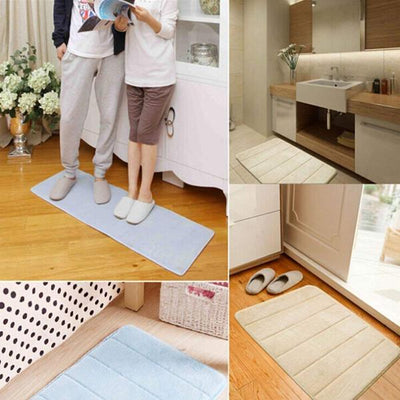 Smooth-Foot Carpet, la alfombra de baño ultra absorbente