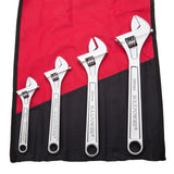 4pcs Heavy Duty Adjustable Wrench Set