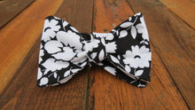 Black and white bow tie, handmade bow tie, floral bow tie, wedding, wedding bow tie, wedding bowtie, handmade bowtie, handmade pocket square, handmade necktie, groom, groom tie, groomsmen, groomsman, groomsmen tie, groomsmen gift, Vineyards vines, vineyard vines, derby tie, derby bow tie, derby bowtie, bowtie Louisville, bowtie Kentucky, handmade bowtie Louisville, handmade bow tie louisville Kentucky