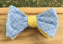 Blue bowtie, blue bow tie, yellow bow tie, yellow bow tie, handmade bow tie, wedding, wedding bow tie, wedding bowtie, handmade bowtie, handmade pocket square, handmade necktie, groom, groom tie, groomsmen, groomsman, groomsmen tie, groomsmen gift, Vineyards vines, vineyard vines, derby tie, derby bow tie, derby bowtie, bowtie Louisville, bowtie Kentucky, handmade bowtie Louisville, handmade bow tie louisville Kentucky