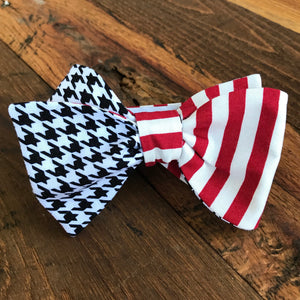 Crimson and Houndstooth Gameday Tie