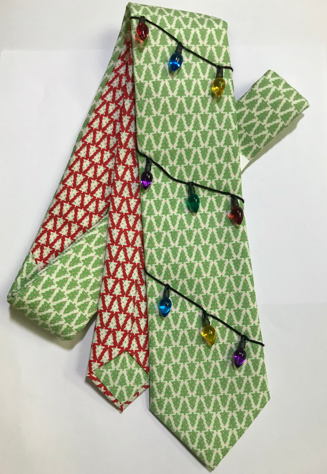 Trim the Tree Embellished Necktie