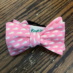 Pink Kentucky Bow Tie